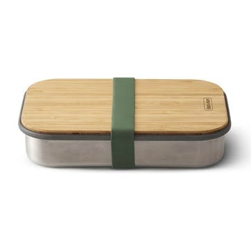 Stainless Steel Sandwich Box, 900ml, Olive