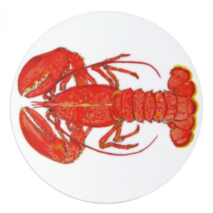 Red Lobster Coaster - 10cm