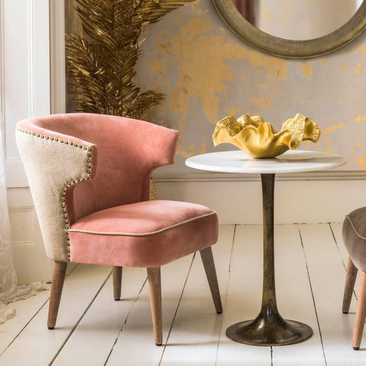 Audrey Rose Velvet Chair