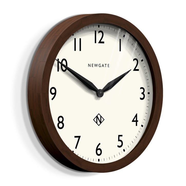 Wimbledon Wall Clock, Dia. 45cm, Solid Wood