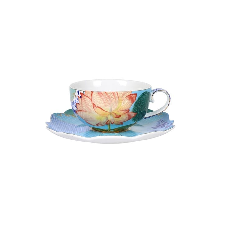 PiP Royal Floral Cup & Saucer