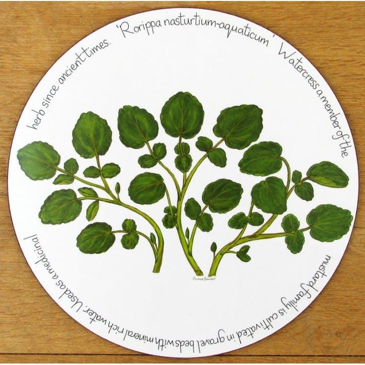 Watercress Tablemat - 28cm