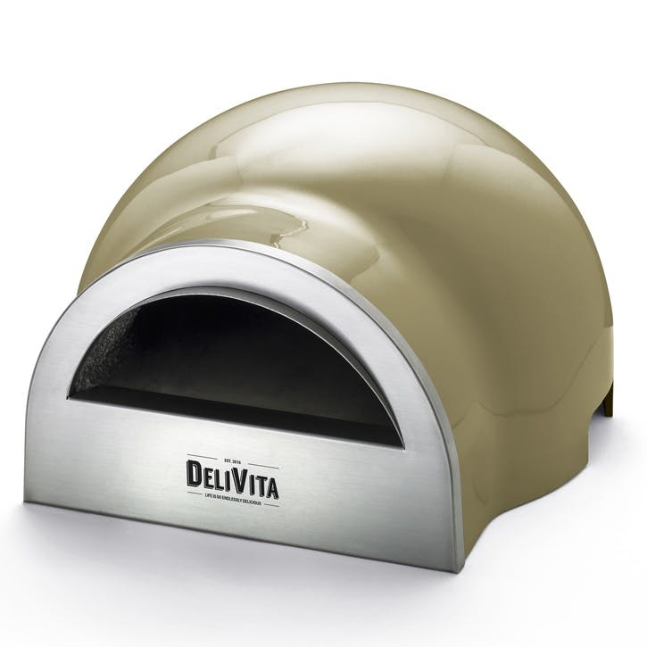 Delivita Outdoor Oven; Olive Green