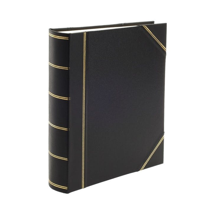 Original Portrait Photo Album, Black