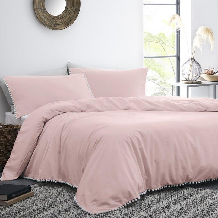 Grace Bedding Set, Double, Blush