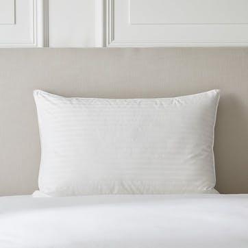 Hungarian Goose Down Support Pillow, Super King, Soft/Medium