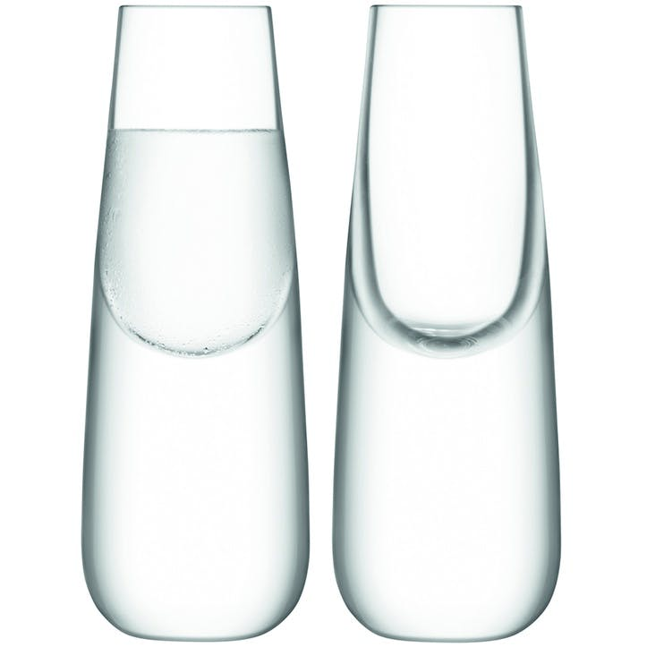 Bar Culture, Shot Glass, Set of 2, 35ml, Clear