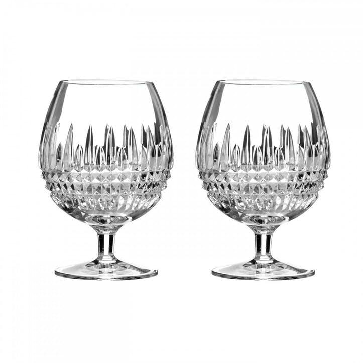 Lismore Diamond Brandy Glass, Set of 2