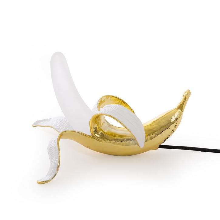 Banana Lamp, Dewy Metallic