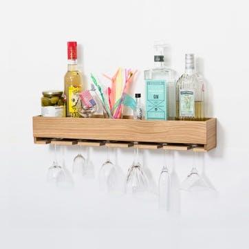 Glass Holder Shelf