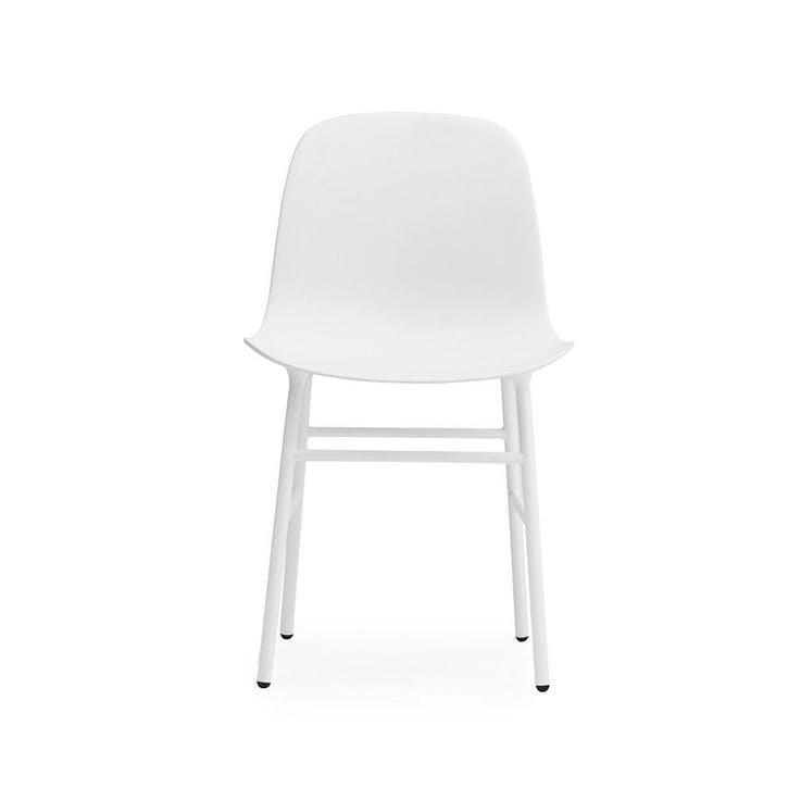 Form Dining Chair D52cm x H80cm White