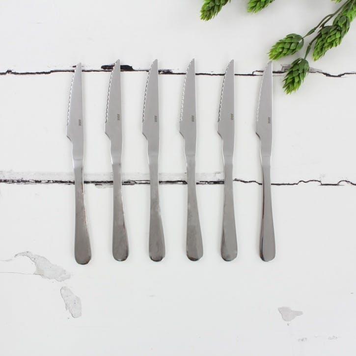Windsor Cutlery, 6 Piece Steak Knife Set