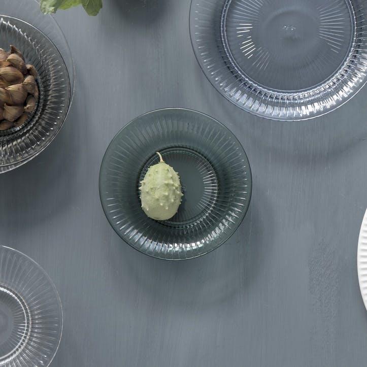 Hammershoi Glass Plate, 17cm, Green