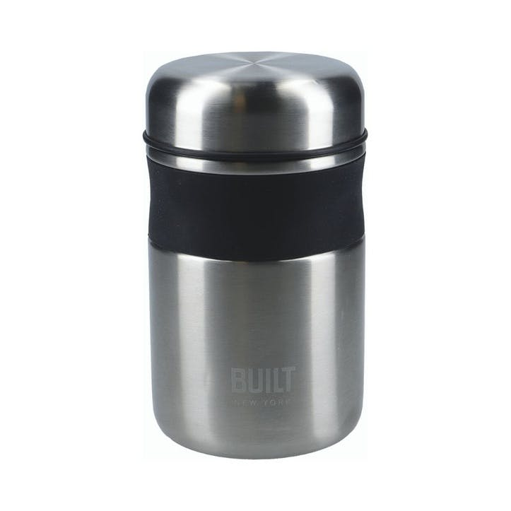 Food Flask, Silver