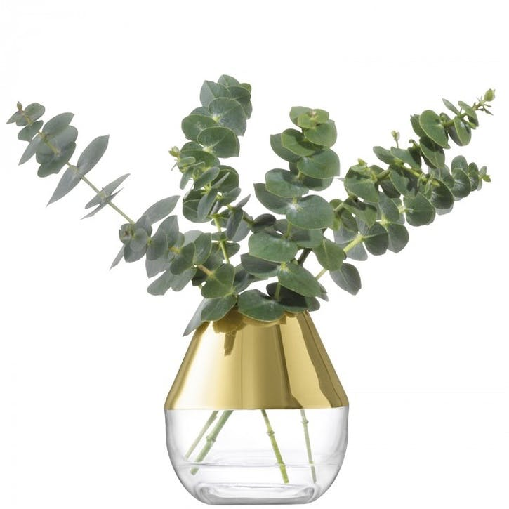Space Vase - 10cm; Gold