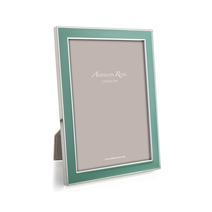 "Rich Enamel Photo Frame - 4"" x 6""; Duck"