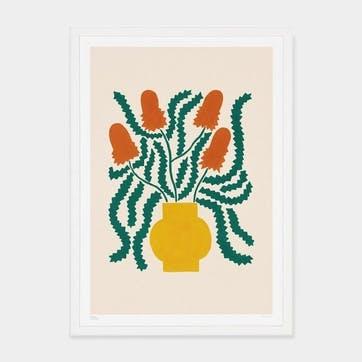 Liv Lee, Banksia Art Print, Unframed, A2