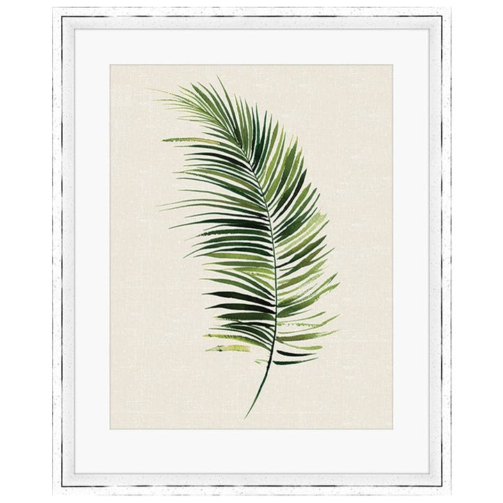 Summer Thornton Tropical Leaf II Framed Print, 55 x 45cm