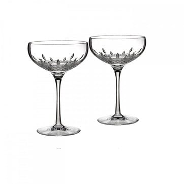 Lismore Essence Champagne Coupe, Set of 2