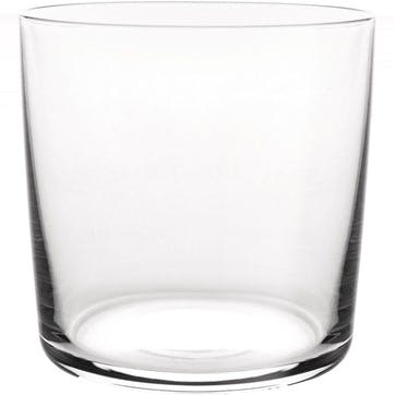 Glass Water Tumbler, Set of 4