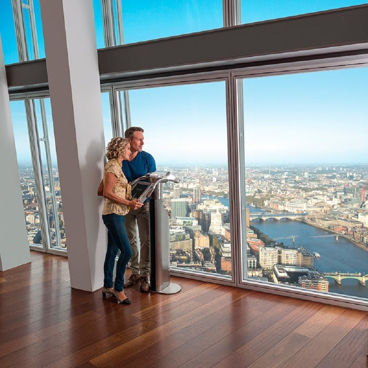 The View from The Shard and Dining at Hard Rock Cafe for Two