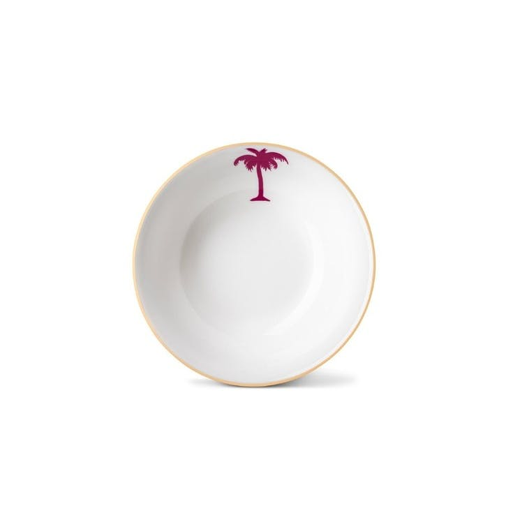 Palm Tree Cereal Bowl