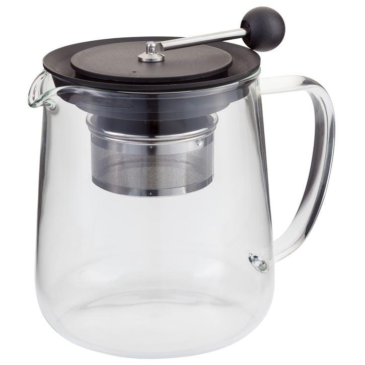 Brew Control Glass Teapot, 6 cup/1.2L