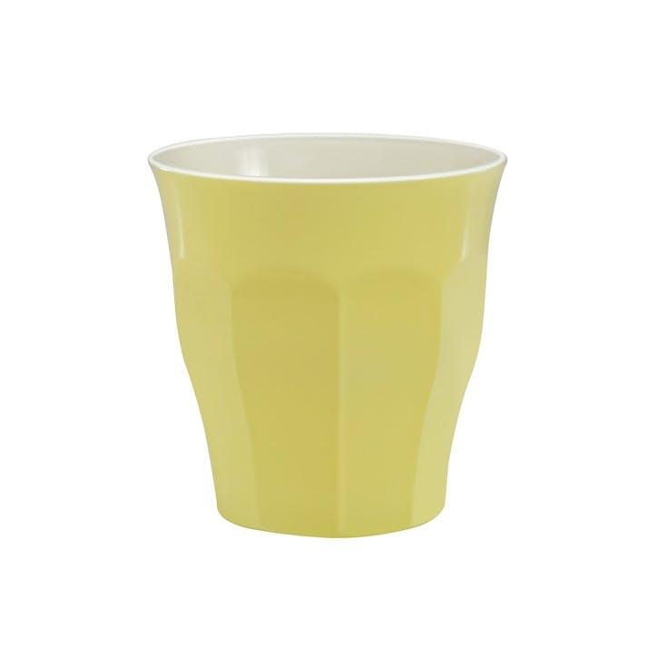 Picardie Pastel, Tumblers, Set Of 6, 220ml, Yellow Pastel