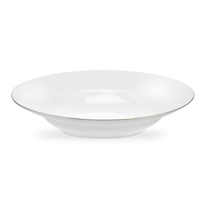 Serendipity Soup Plate, Set of 4 -  23.5cm; Platinum