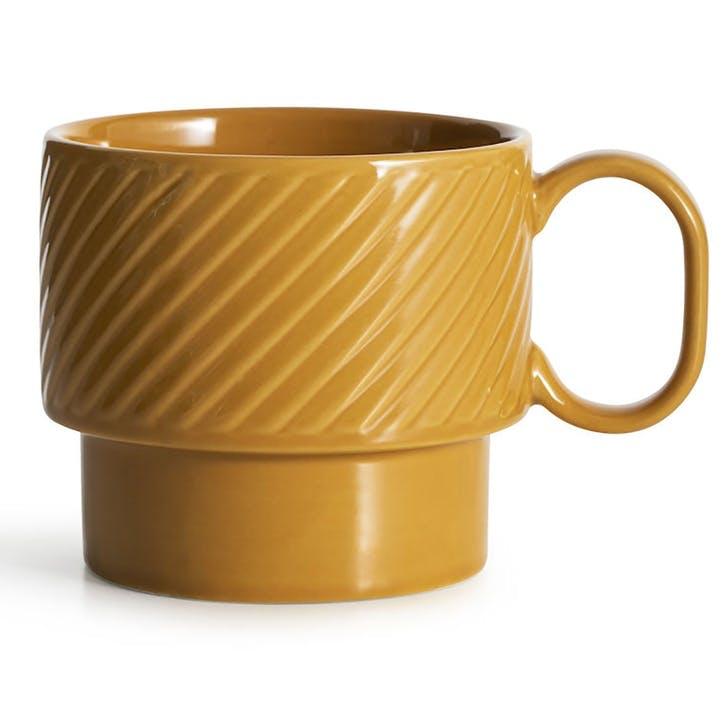 Coffee & More, Tea Mug, 400ml, Yellow