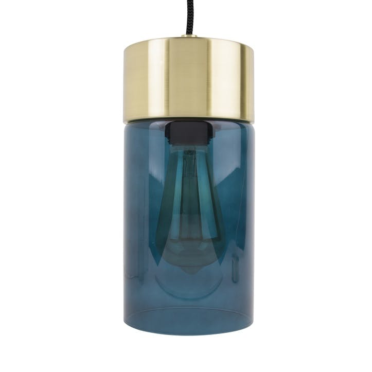 Lax Pendant Light, Blue
