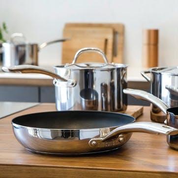 Momentum Stainless Steel Frying Pan, 25cm