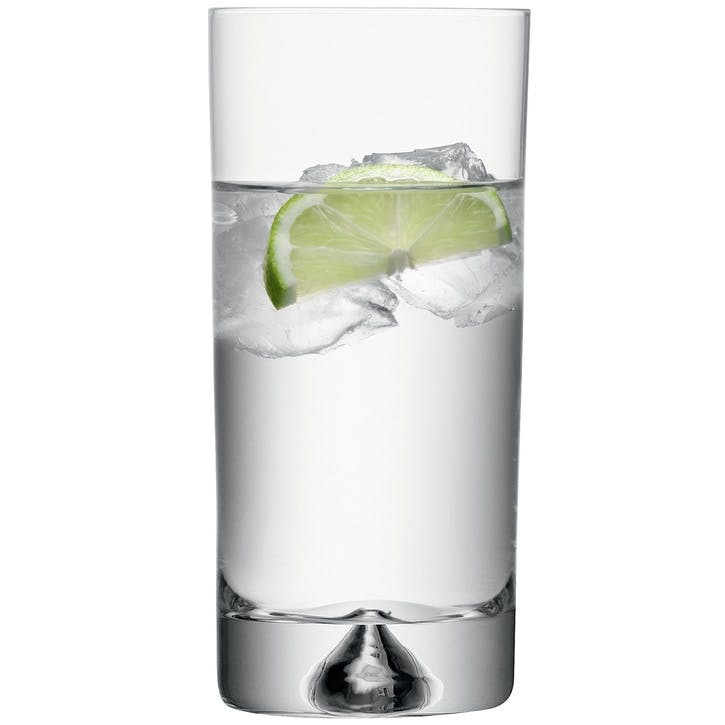 Pyramid Highballs, Set of 6