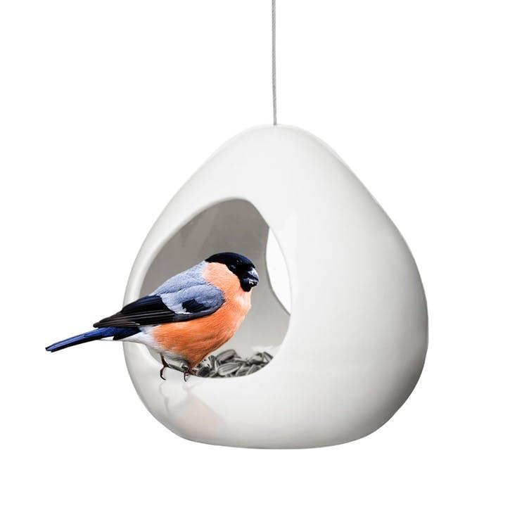 Birdfeeder, White