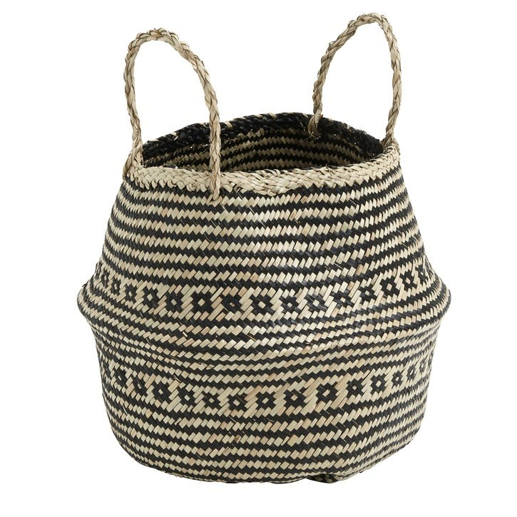 Seagrass Belly Basket, Small