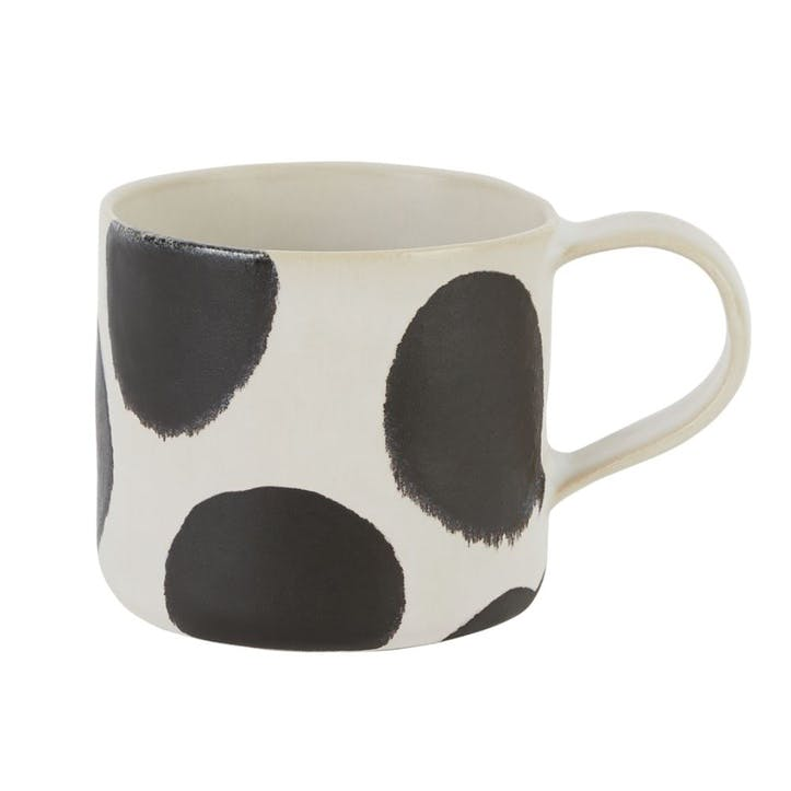Sicilia Mug, Black and White