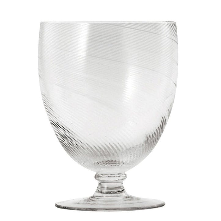 Twisted Wine Goblets, Set of 4