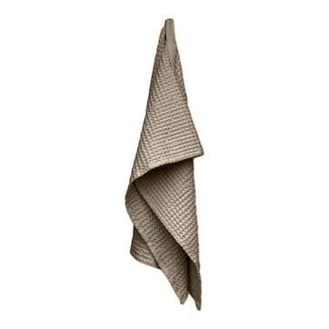 Waffle Bath Towel, L150 x W50cm, Clay