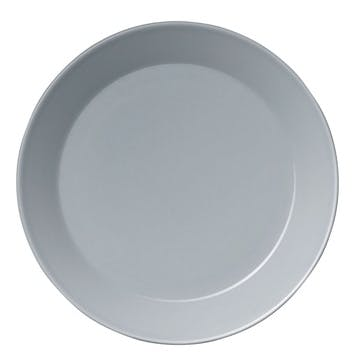 Teema Plate, Pearl Grey, 17cm