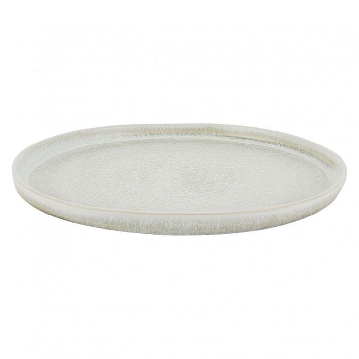 Nona Dinner Plate, Grey