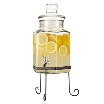 Lemonade and Punch Jar with Stand, 5.5 Litre