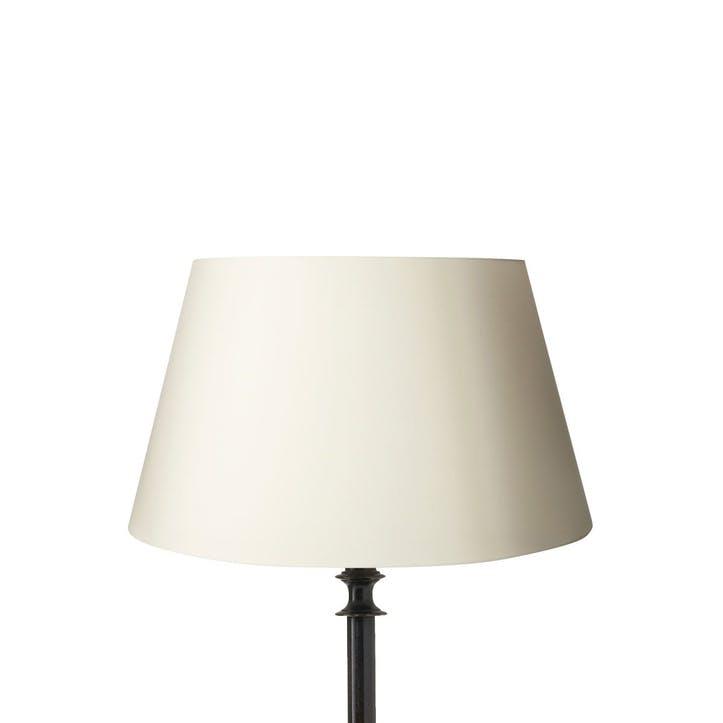 Drum Cotton Lampshade, 40cm, Off-White