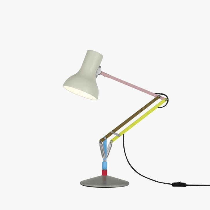 Mini Desk Lamp Multicolours and Cream