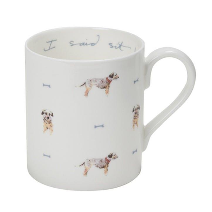 'Terrier' I Said Sit! Mug - Large