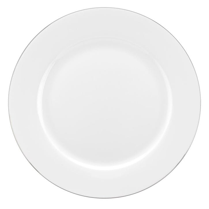 Serendipity Dinner Plate, Set of 4; Platinum