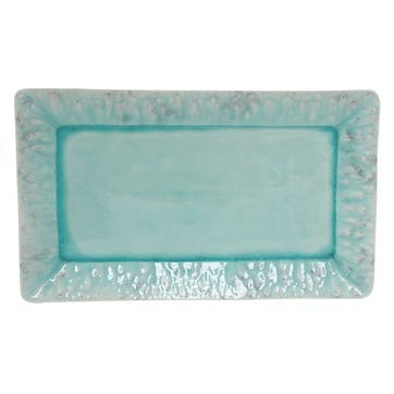 Madeira Blue Rectangular Platter