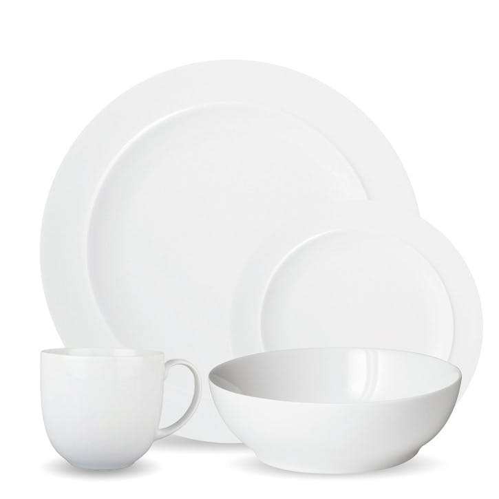 White 16 Piece Tableware Set