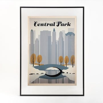 Central Park Print, Winter