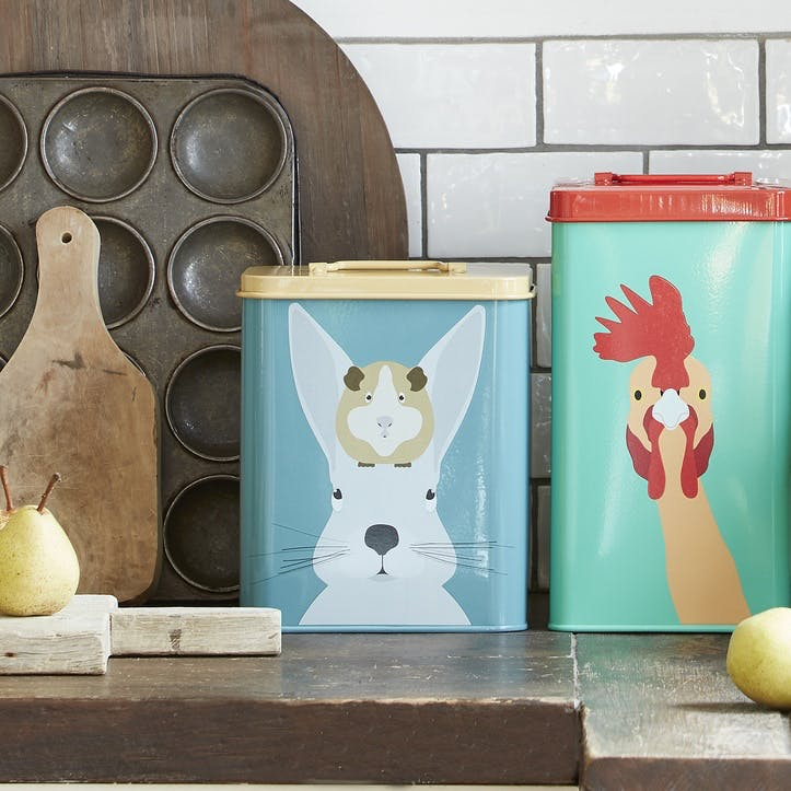 Creatureware Rabbit & Guinea Pig Tin