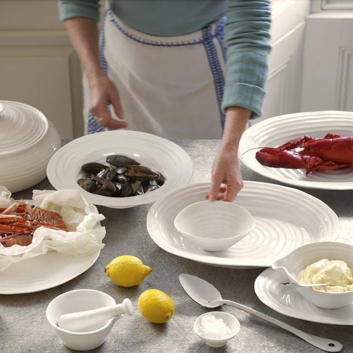 Sweetheart Baking Dish - 25cm; White